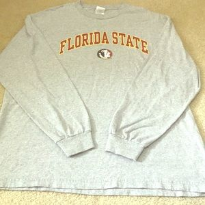 Florida State XL long sleeve gray T-shirt.